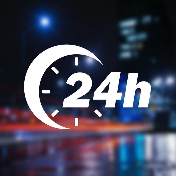 24h - 365 Tage im Jahr